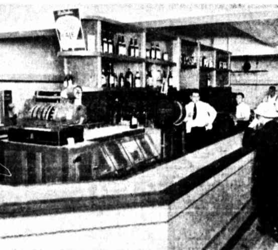 Public bar Royal Hotel Brisbane 1937