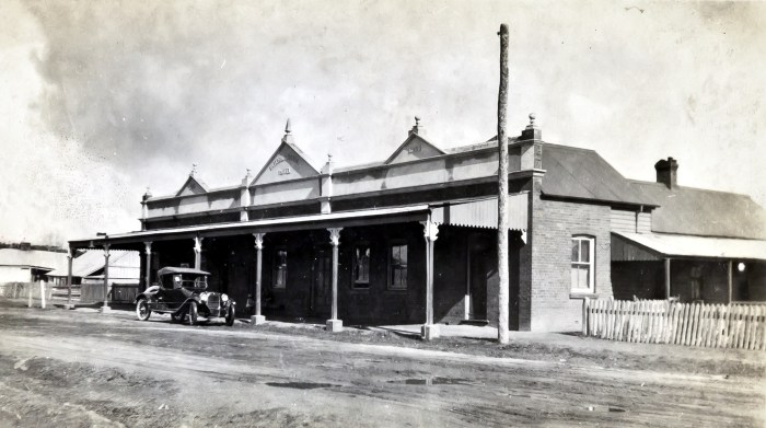International Hotel Armidale NSW 1924 NBA ANU