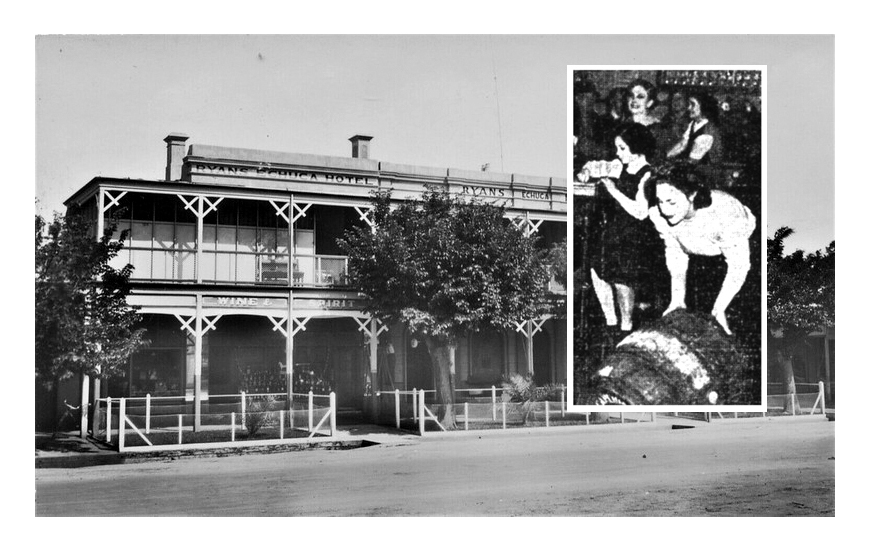 Olive's three 'petticoat pubs' were run entirely by women