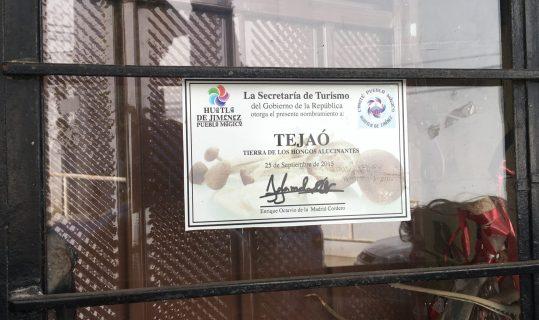 the Pueblo Mágico designation for Huautla de Jiménez, Oaxaca for its magic mushrooms