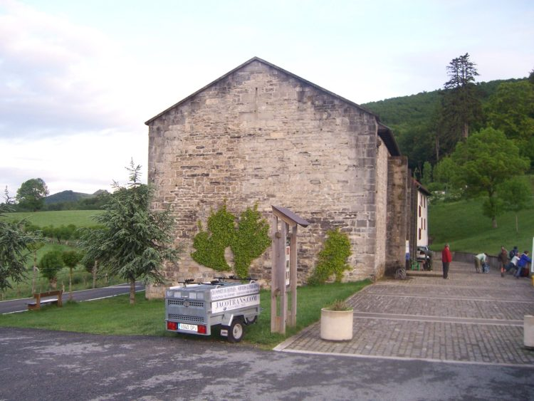 The albergue in Roncesvalles