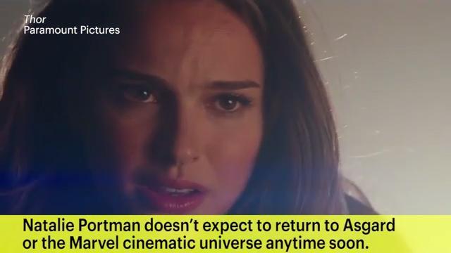 Thor Actress Natalie Portman I M Done Making Marvel