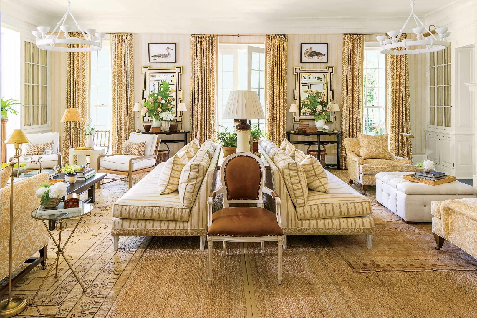 Idea House Living Room by Mark D Sikes  Southern Living
