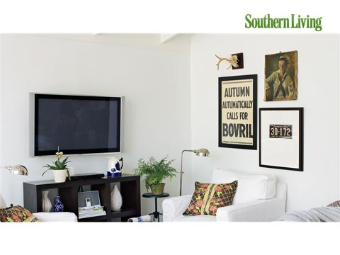 Living Room Media and Electronics Solutions  Southern Living