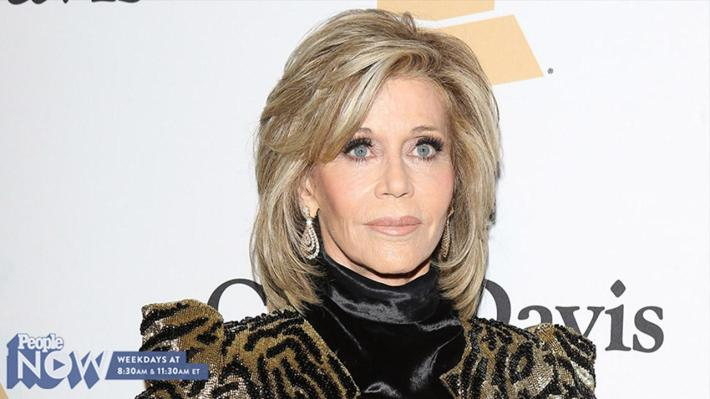 video: what red carpet outfit does style icon jane fonda look back on and  cringe?