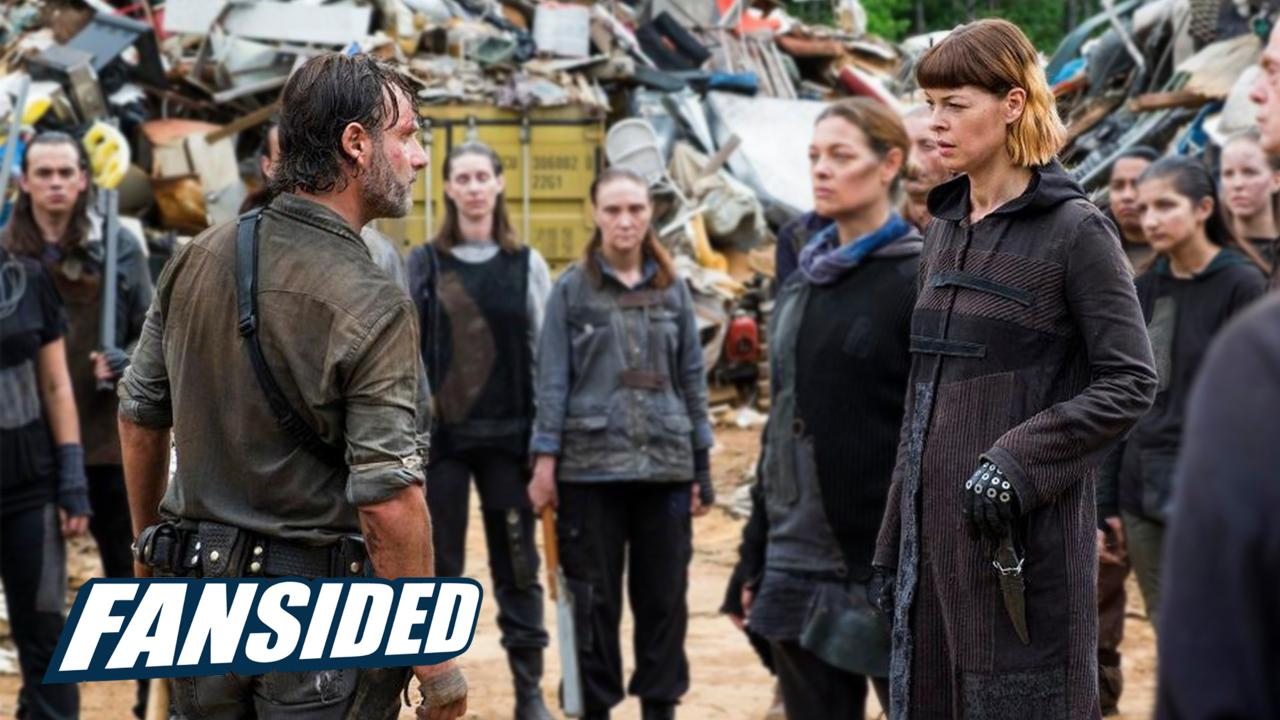 """The Walking Dead who died in episode 807 """"Time For After"""""""