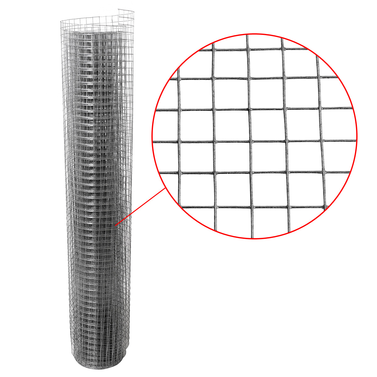 Aviary Wire Wire Mesh Fence Wire Mesh Hot Dipped Spot Welded 208