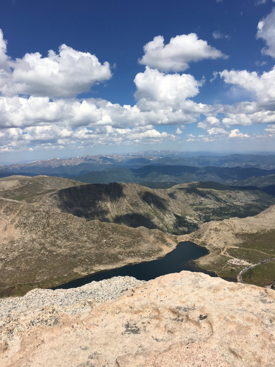mount evans peak