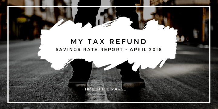 Time in the Market Savings Rate Report – April 2018 – My Tax Refund