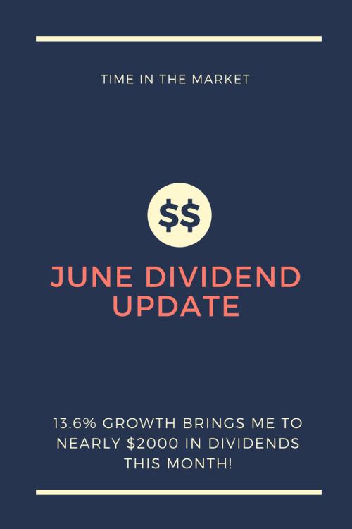 Dividend update! #Dividends #money #finance #cash #savings #growth