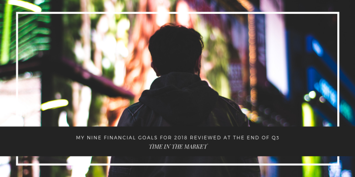 Time in the Market's Q3 2018 Goal Review
