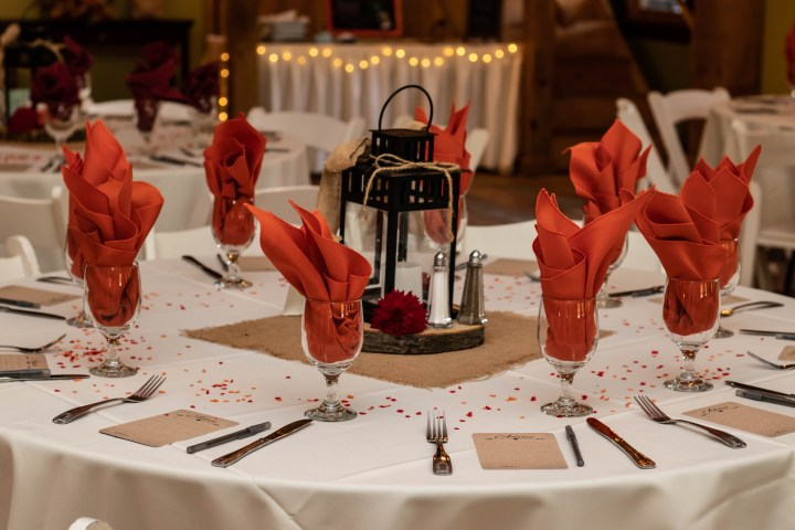 The venue can have decorations that can help keep the cost of a wedding down.
