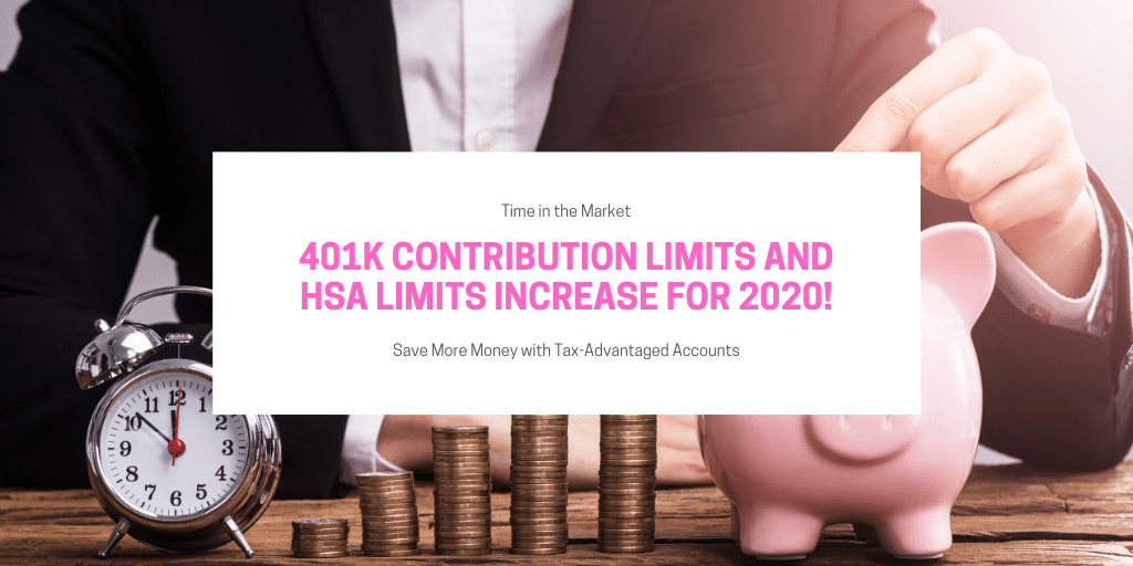 The 2020 401k Contribution Limit is Going Up as is the HSA Limit