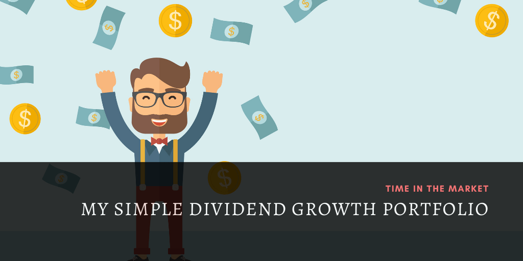 My Simple Market Beating Dividend Growth Investing Portfolio