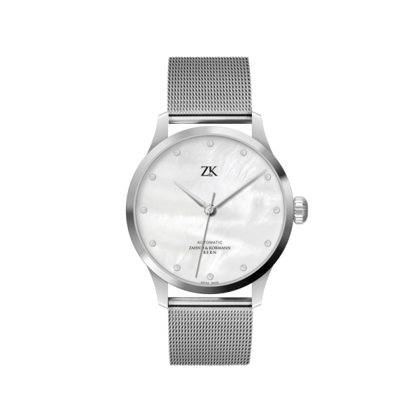 ladies-automatic-watch-finesse-white-pearl-eta-2824