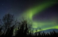 Northern Lights in Alaska, March 2013 timelapse