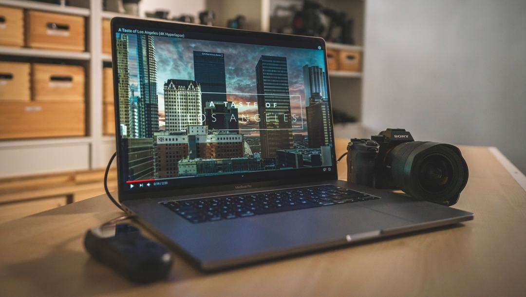 A Taste of Los Angeles on Laptop