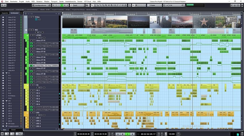 A Taste of Los Angeles Sound Design Screenshot 2