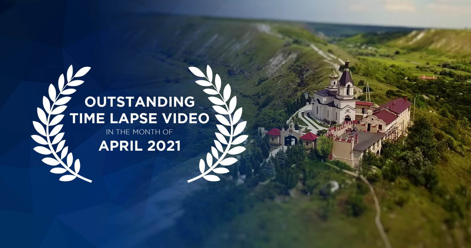 Outstanding time lapse videos in April 2021