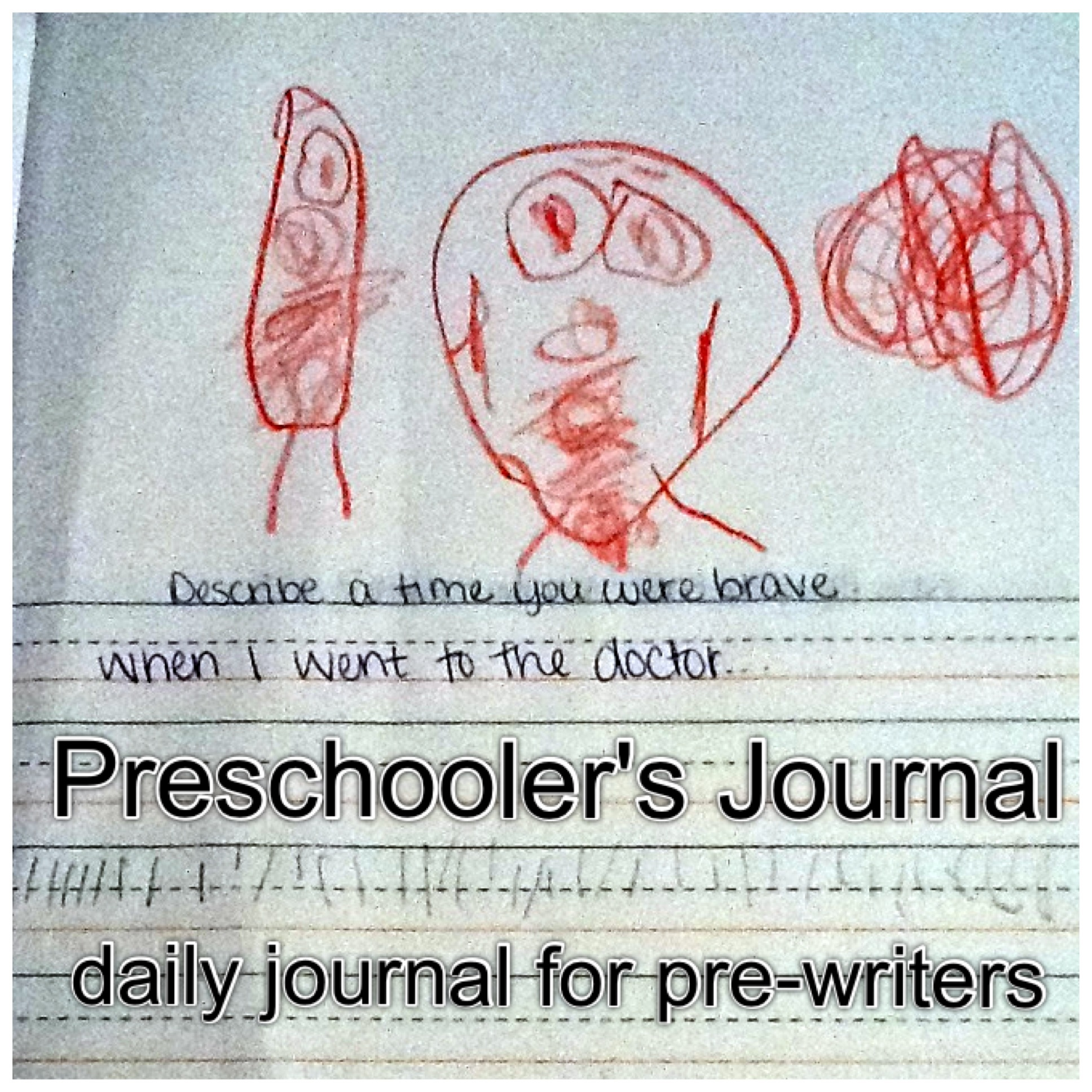 Preschooler S Journal Daily Journal For Pre Writers