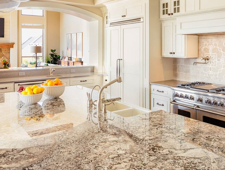 Island Countertops Timeless Granite Countertops Chicago