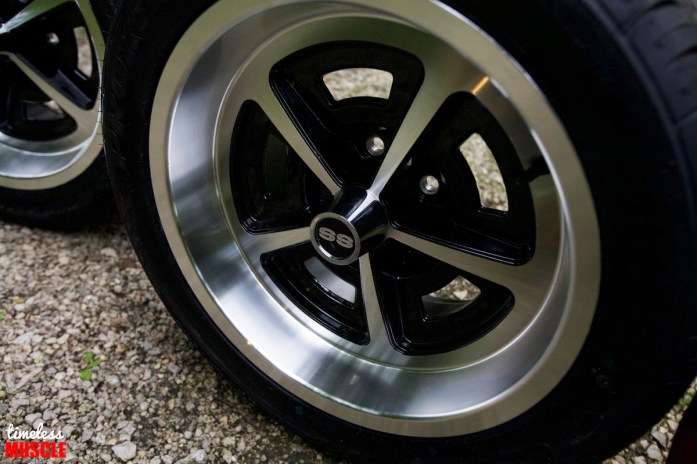 The lips of the wheels are designed to mimic the look of the factory trim ring found on the 14-inch steel version, but instead, now serve as a casual similarity of the look without trying too far.