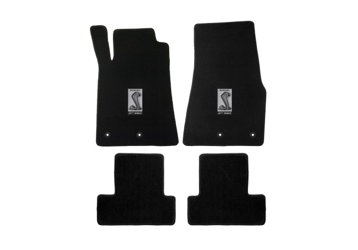 Lloyd Mats Adds New Gt350 Logos To Its Full Line Of Shelby Licensed Floor Mats - Shelby Sidemarker Silver Tabletop 2015 - ON