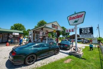 Gay Parita Sinclair Gas Station