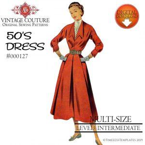 EASY 1950'S DRESS TUTORIAL