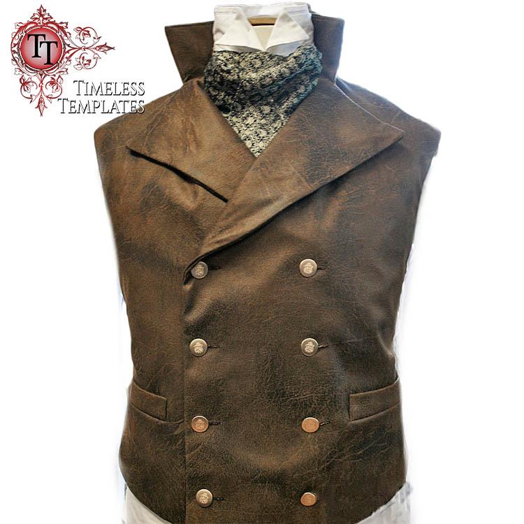 sweeney vest waistcoat tutorial