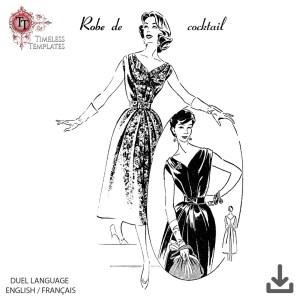 1957 patron couture original