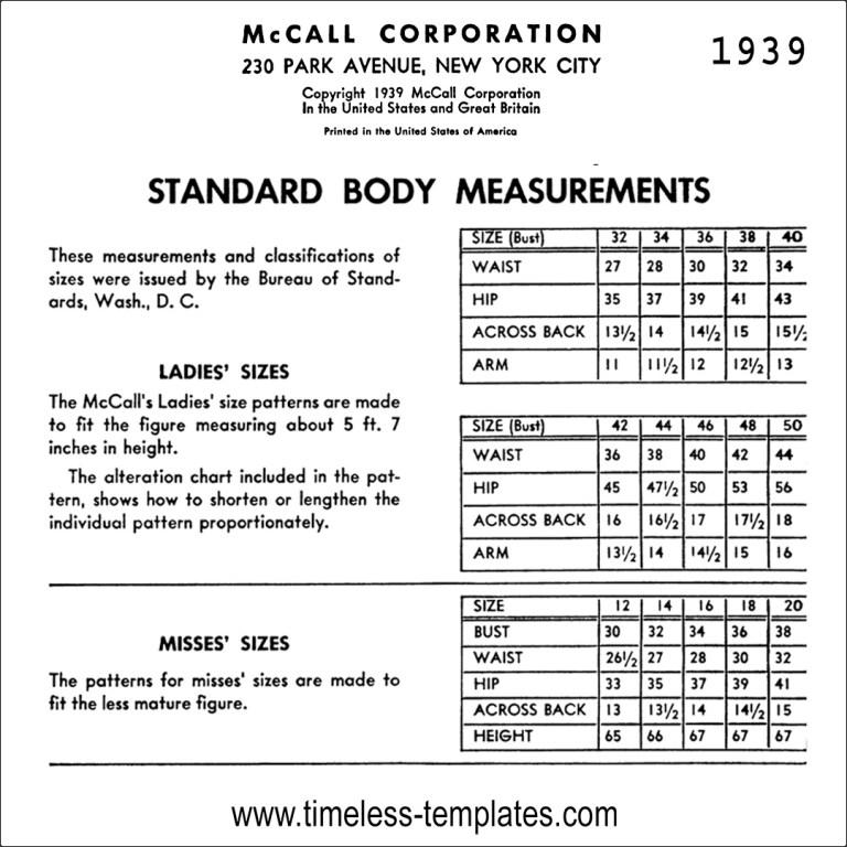 Mccall 1939 free vintage sewing manual