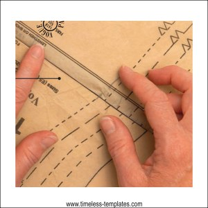 how to lengthen and shorten a sewing pattern