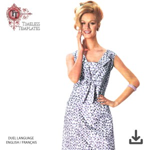 mrs maisel 1960´s origibal dress sewing pattern