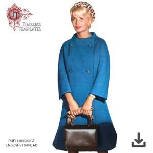 mrs Maisel 1960´s original sewing pattern