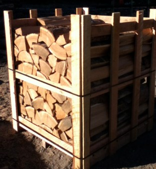 Cords of dry waste wood (butts of trees) delivered to your door