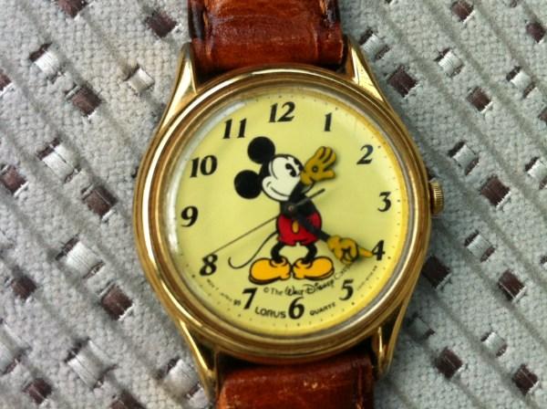 1980 Mickey Mouse Wrist Watch Disney Licensed Lorus