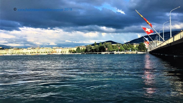 Exploring the left bank of Lake Geneva, on Day 1 of a Perfect Romantic 3-day itinerary in Geneva