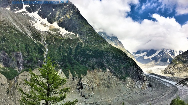 Mer de Glace. The third in Day 2 of A Perfect Romantic 3-Day Itinerary in Geneva