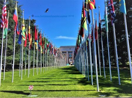 UN Building in Geneva, Switzerland