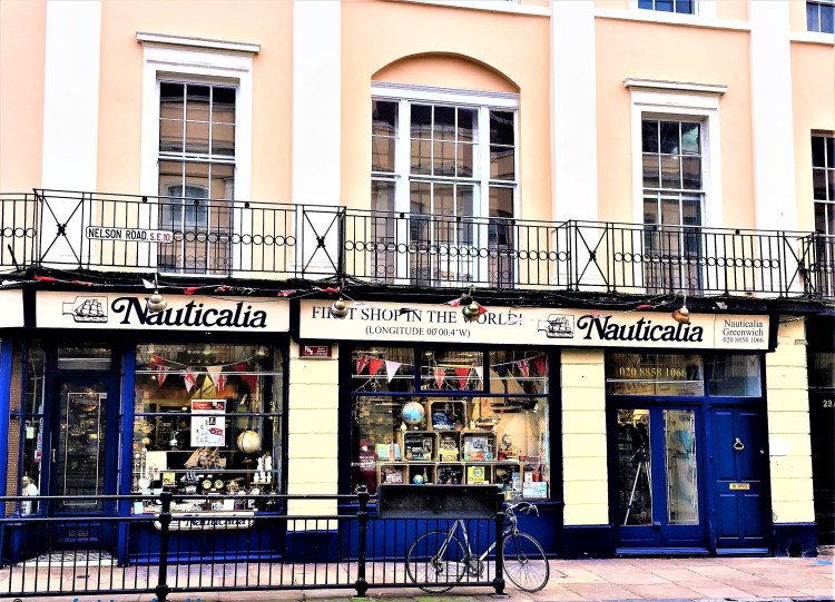 Nauticalia - The first shop in Greenwich since Time began in 1847
