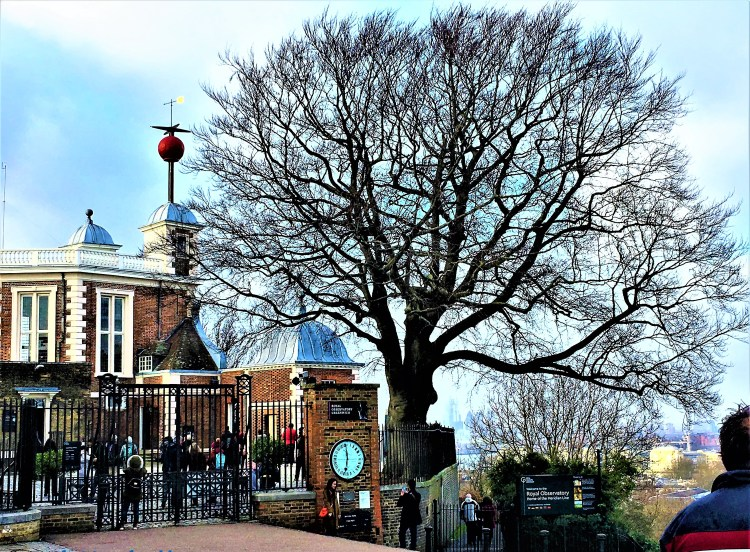 The Time Ball at 1 p.m Note the time displayed on the Shepherd Clock, Royal observatory and planetarium,Greenwich