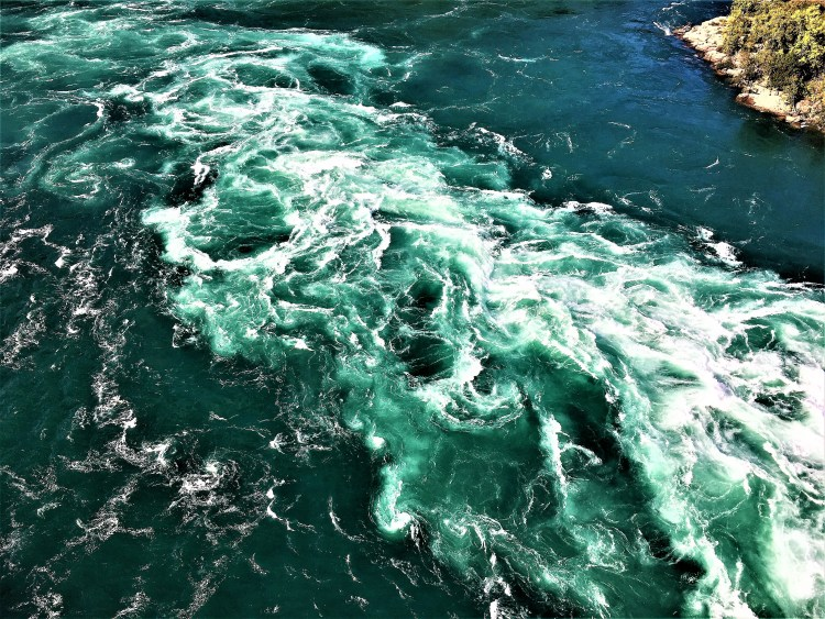Niagara Whirlpool - A natural phenomenon.