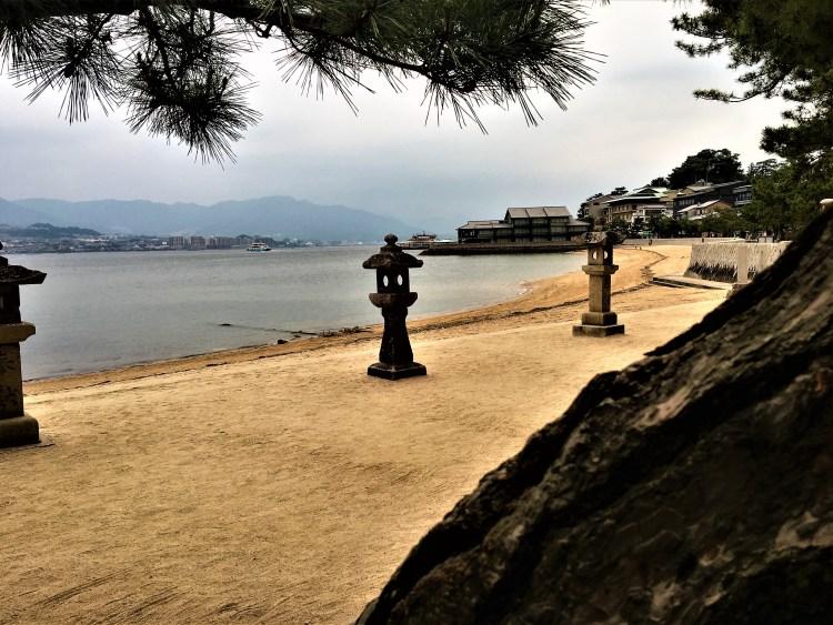 Sunset at Miyajima Island, 2 day itinerary of Hiroshima and Miyajima