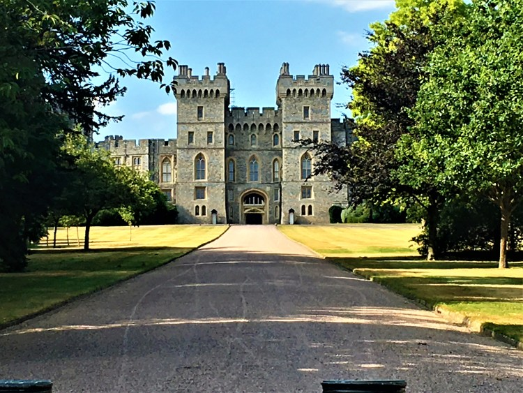 Windsor Castle, Berkshire: View from the Cambridge Gate