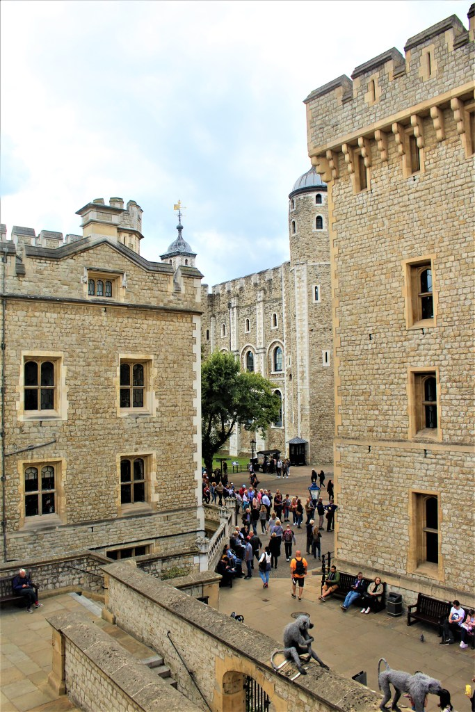 About 20 towers were built over the centuries, to surround the White Tower.
