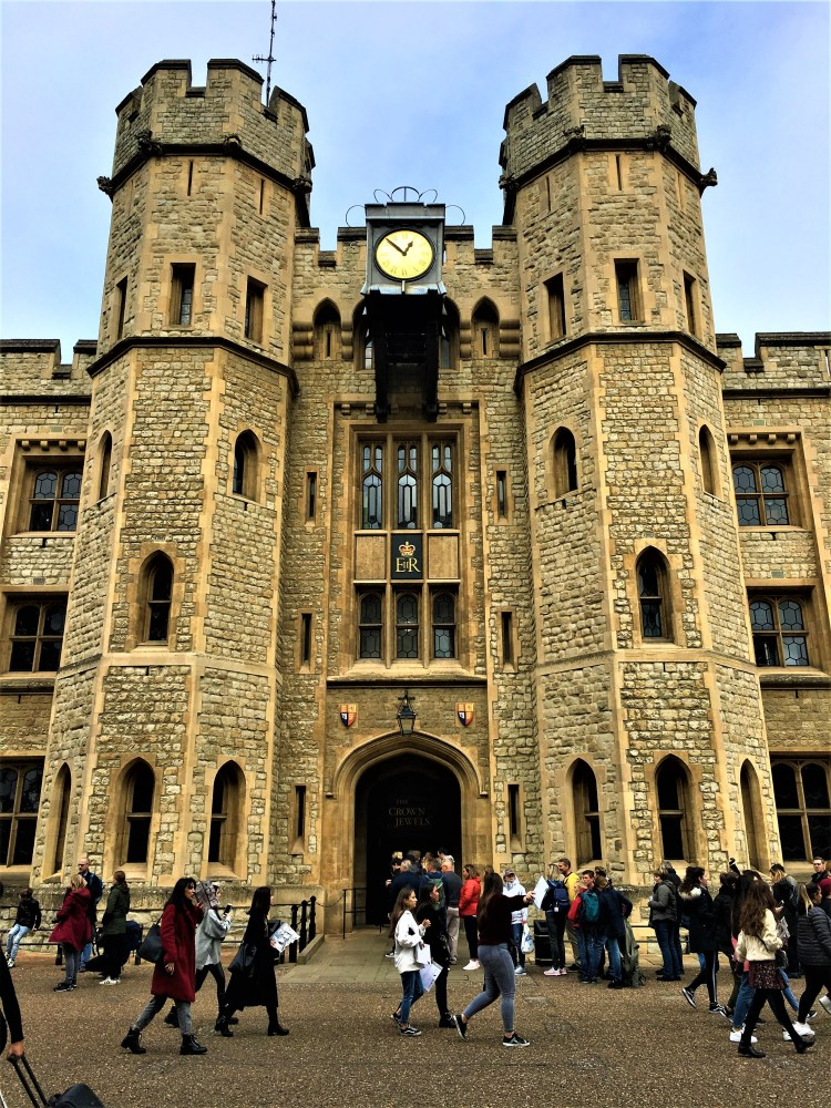 The Jewel House, home to the magnificent Crown Jewels at the Tower of London