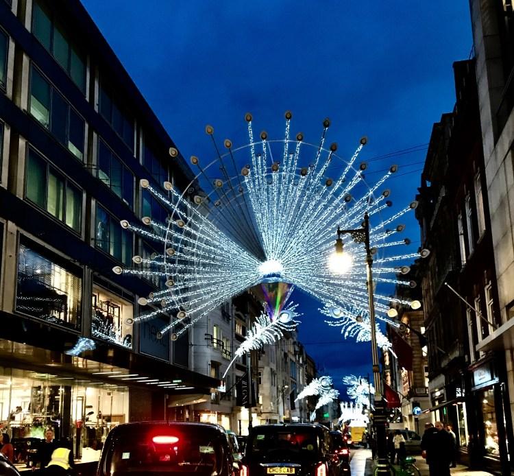 Bond Street Lights at Christmas 2019