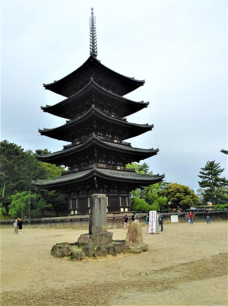 5 storey pagoda at Kofukuji Temple, Nara
