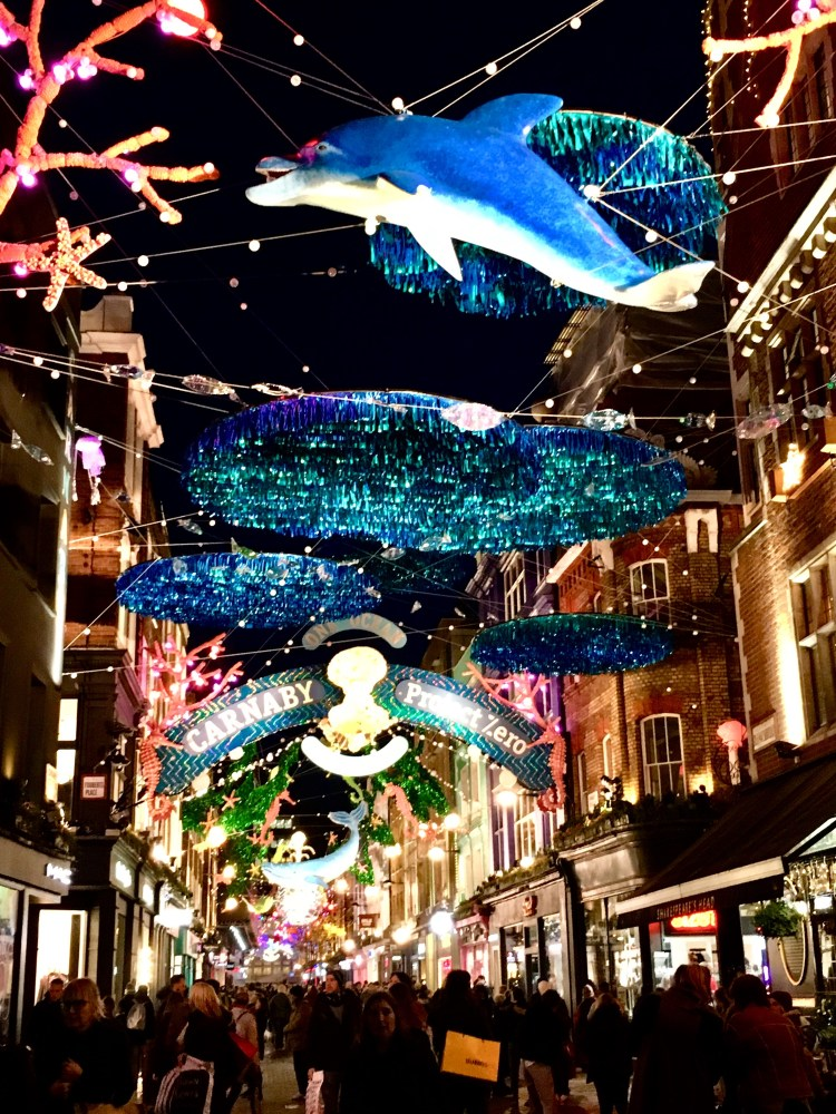Carnaby Street Christmas Lights 2019